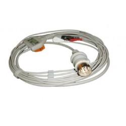 Cable ECG para Nihon Kohden