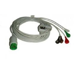 Cable ECG para Spacelabs Ultraview Con Terminales