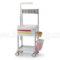 Carro Procedimientos Polímero Aluminio 2 Cajones